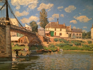 Sisley at the Bruce Museum - Bridge at Villeneuve-la-gar