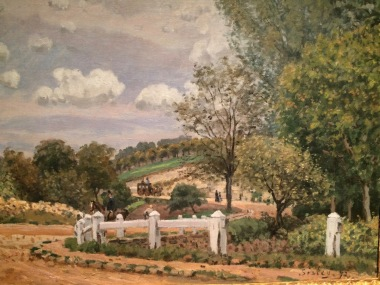 Sisley at the Bruce Museum in Greenwich -- The-Route-of-Verrieres