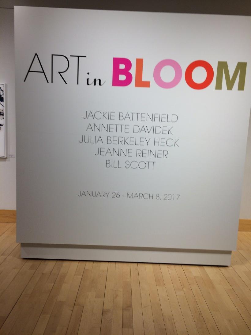 Art in Bloom at the Flinn Gallery in Greenwich