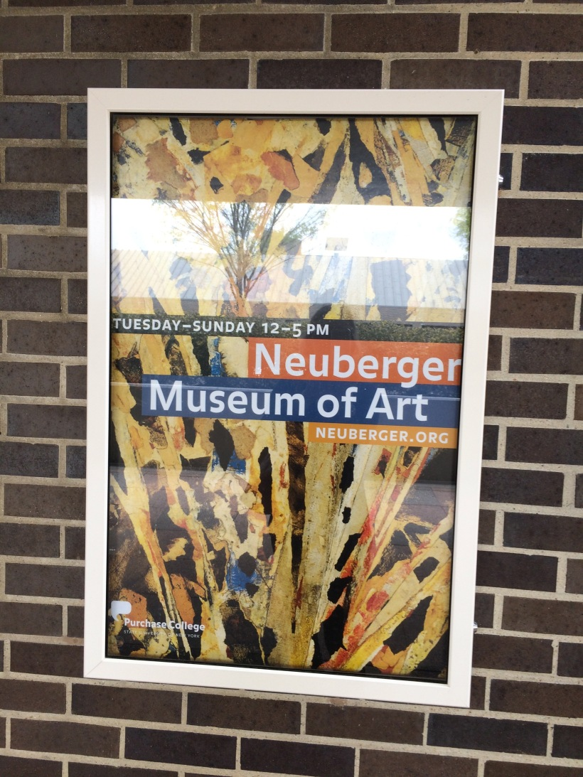 Neuberger Museum sign